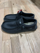 Load image into Gallery viewer, Hey Dude Wally Sox Black Shoes