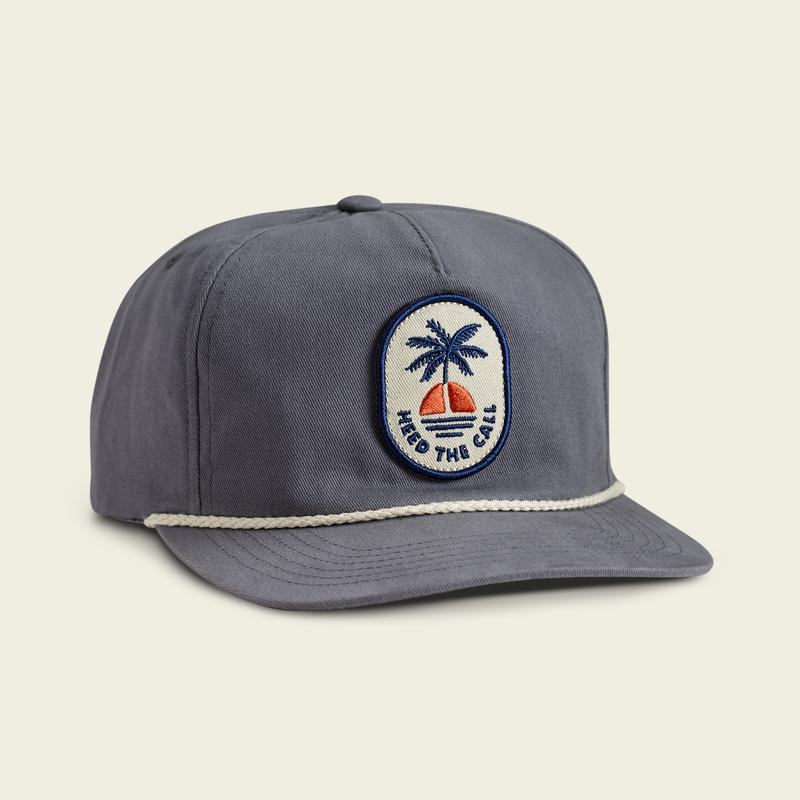 Howler Bros Sunset Snapback- Deep Blue
