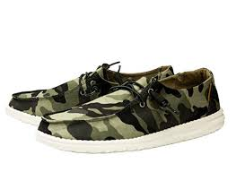 Hey Dude Wendy Camo Shoe