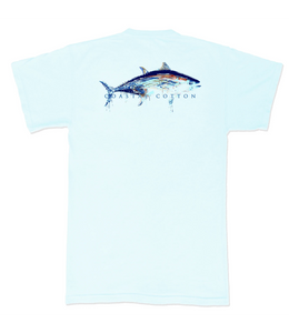 Coastal Cotton Tuna Logo Tee