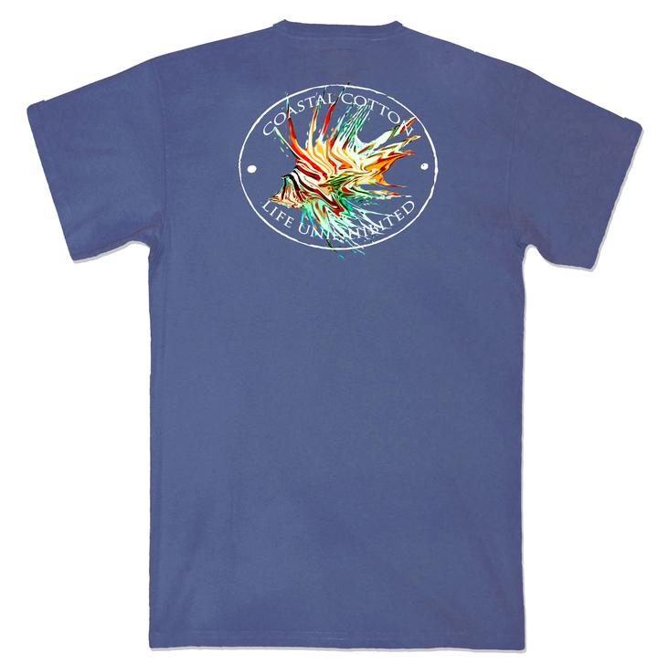 Coastal Cotton Lionfish Tee
