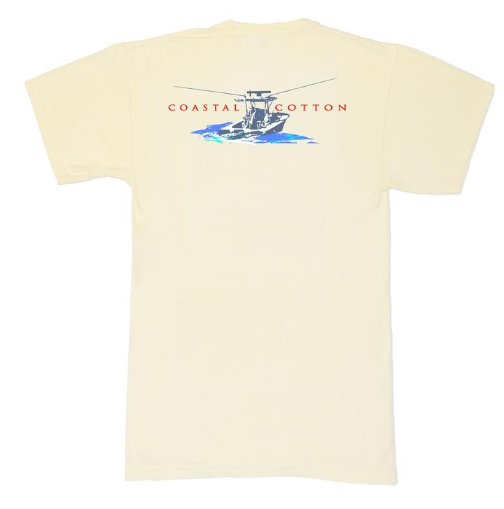 Coastal Cotton Center Console Tee
