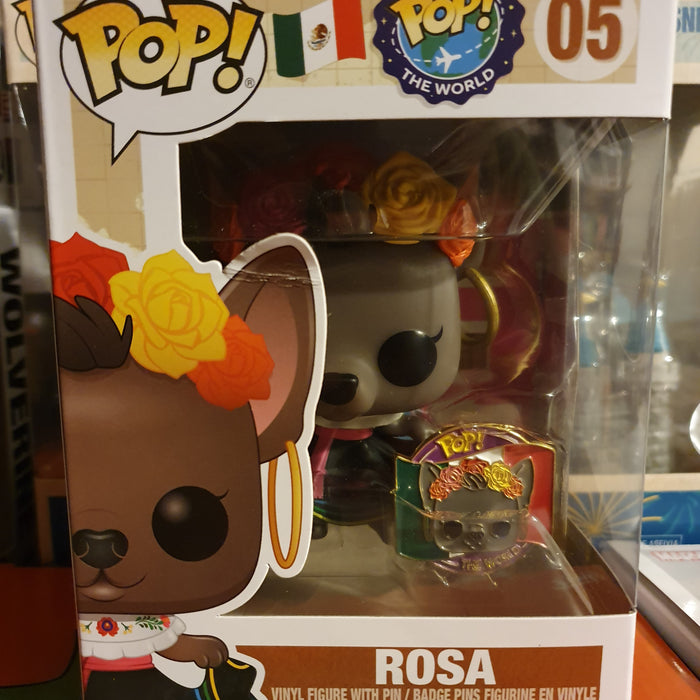 Rosa Around the World (Not Mint)