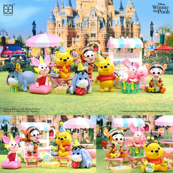 Herocross Winnie the Pooh party: 1 piece blind box