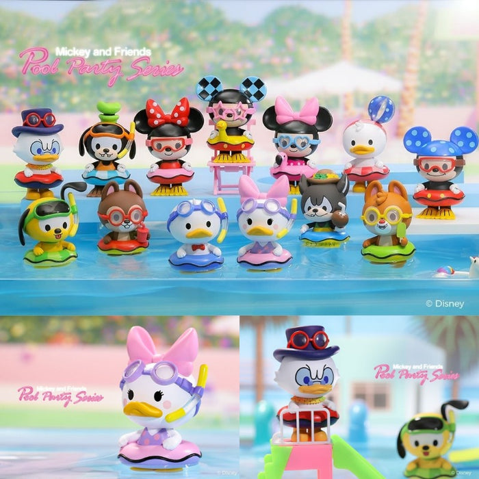 Pop Mart Disney Pool Party Mickey & Friends: 1 piece blind box
