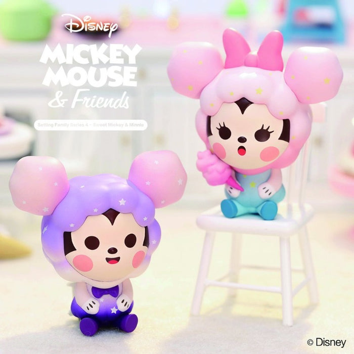 Pop Mart Disney Sweet Mickey & Minnie: 1 piece blind box
