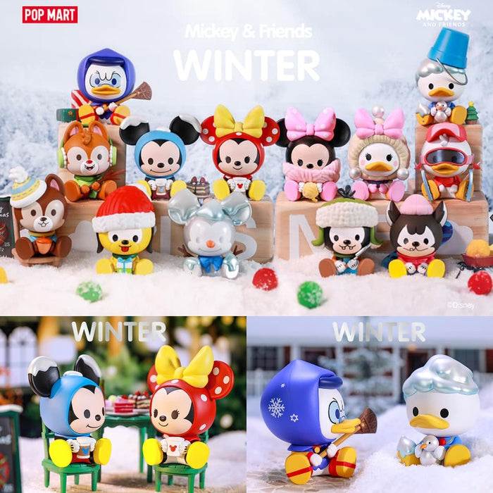 Pop Mart Disney Winter Mickey & Friends: 1 piece blind box