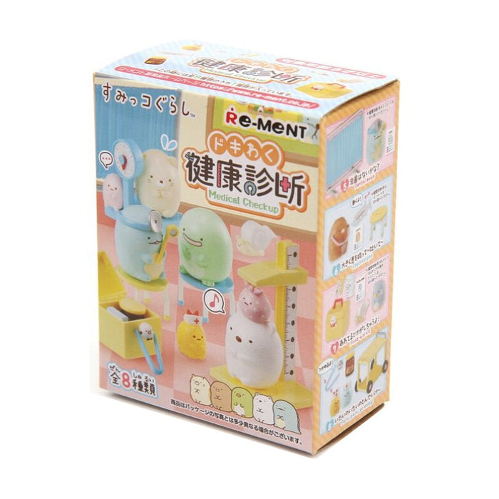Re-ment San-X Sumikko Gurashi Medical Check Up: 1 Box