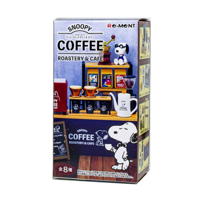 Re-ment Snoopy Coffee Roastery: 1 Box