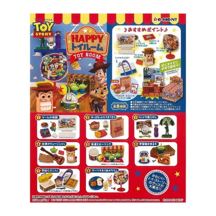Re-ment Toy Story Happy Toy Room: 1 Box