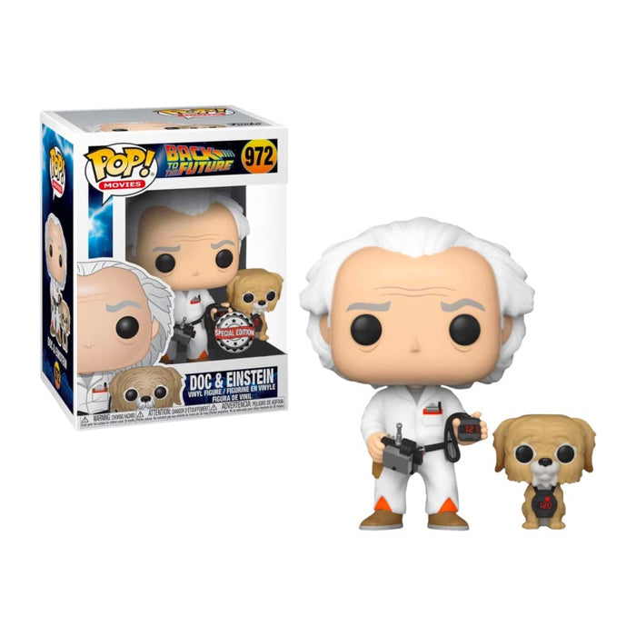 Doc Brown & Einstein Exclusive