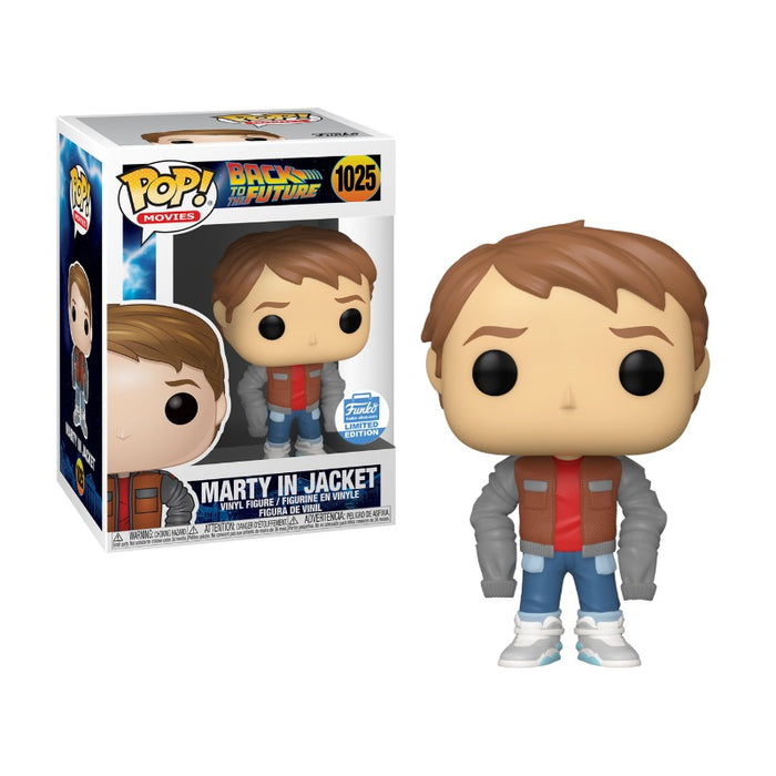 Marty in Jacket Funko Shop Exclusive