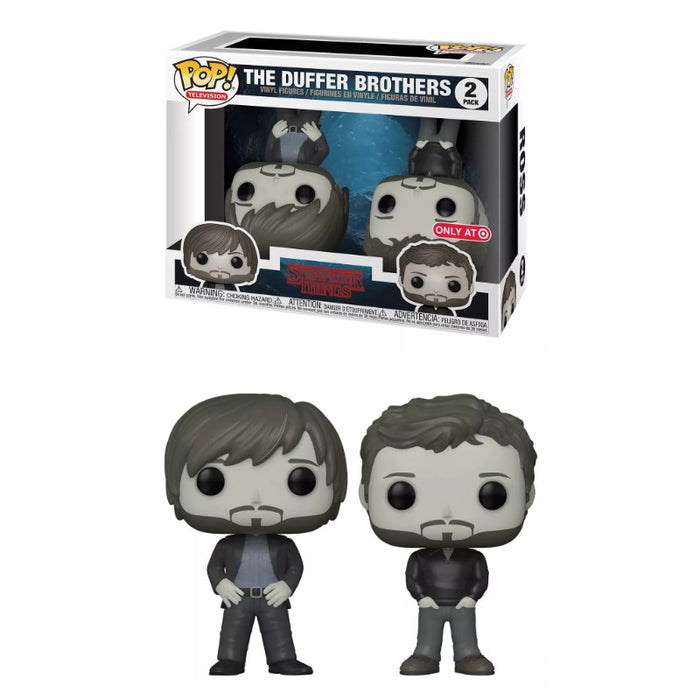 Duffer Brothers twin pack Target Exclusive Funko Pops