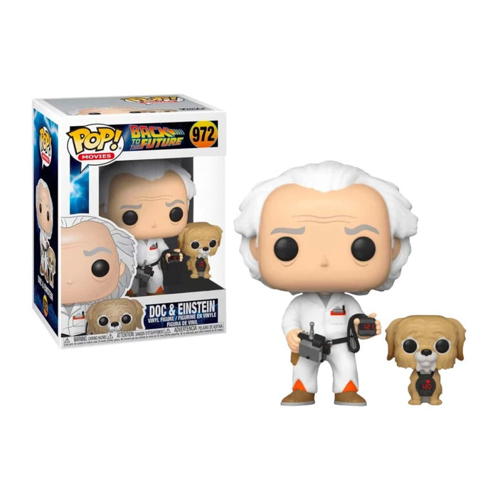 Doc Brown & Einstein Walmart Exclusive
