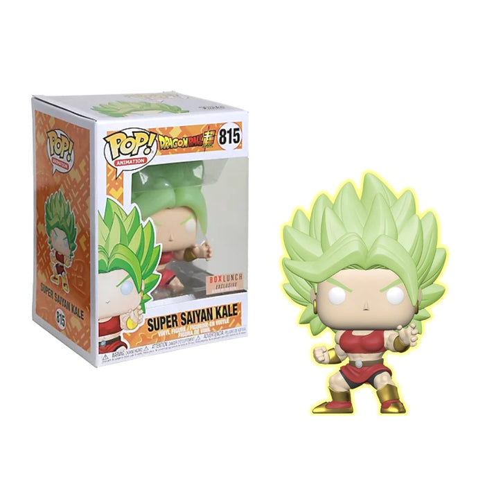 Super Saiyan Kale GITD Boxlunch Exclusive Funko Pop (Not Mint)