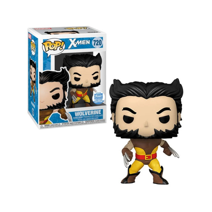 Marvel X-men Wolverine Unmasked Funko Shop Exclusive