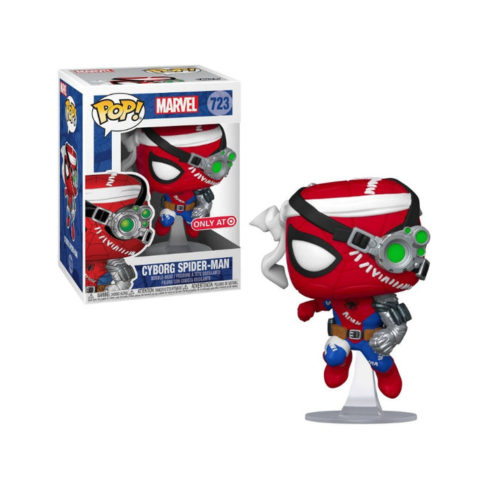 Marvel Cyborg Spiderman Target Exclusive (Not Mint)