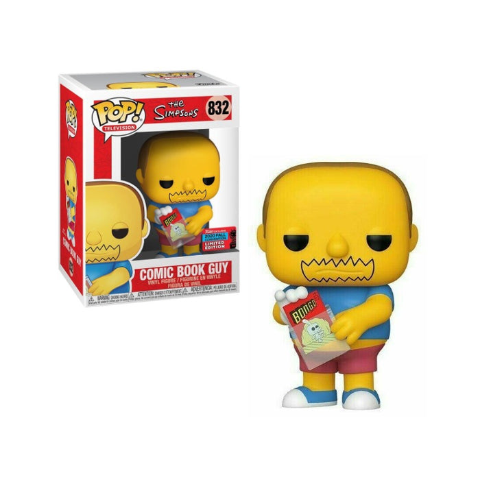 Comic Book Guy NYCC 2020 Exclusive