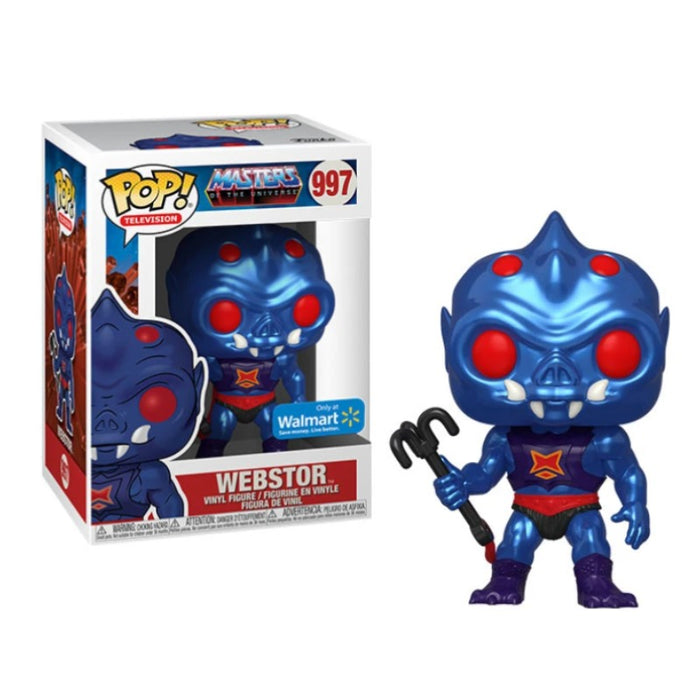 MotU Metallic Webstor Walmart exclusive