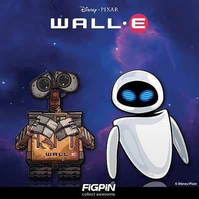 walle and eve figpin