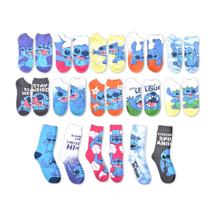 Women's Lilo & Stitch 15 Days of Socks Advent Calendar