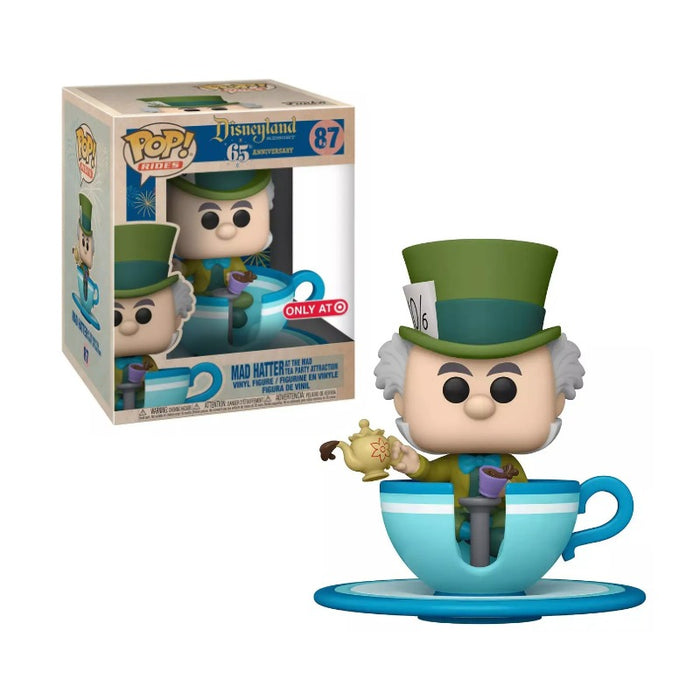 Disney 65th Anniversary Target Exclusive Mad Hatter Teacup