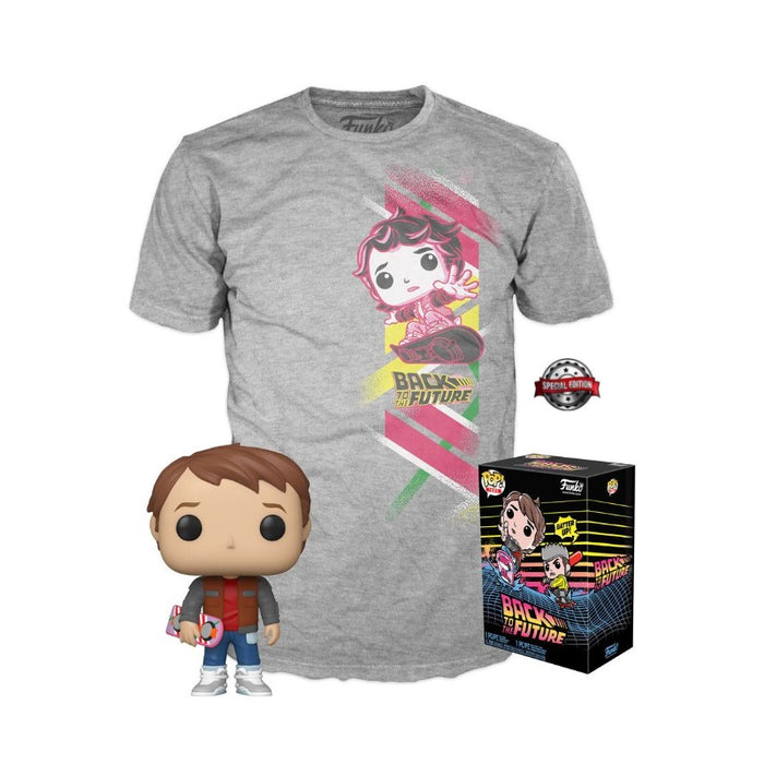 Marty McFly Back to the Future Pop & Tee