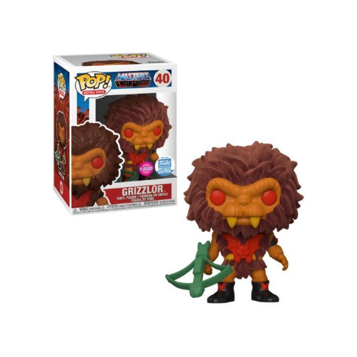 MOTU Flocked Grizzlor Funko Shop exclusive