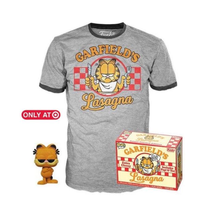 Target Exclusive Garfield Flocked Pop & Tee