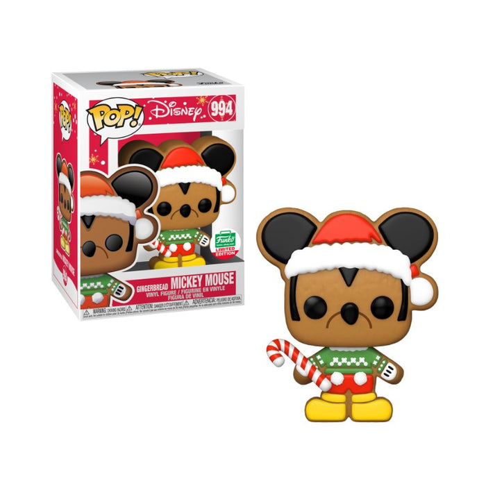 Gingerbread Mickey Funko Shop exclusive