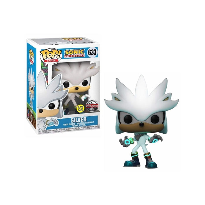 Sonic: Glow in the dark Silver exclusive Funko