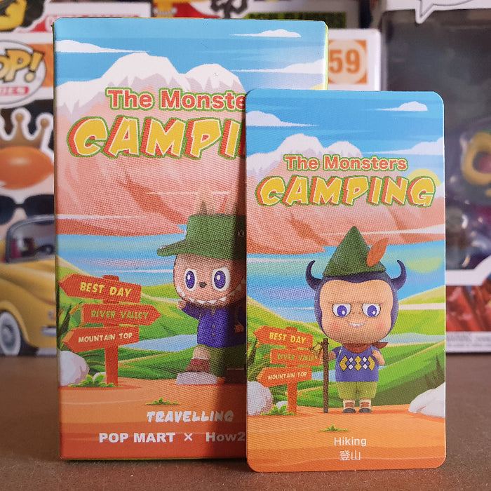 Pop Mart The Monsters: Camping: Hiking