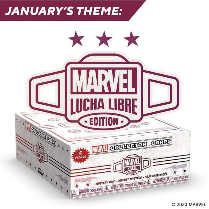 Marvel Collectors Corps: January Theme: Lucha Libre
