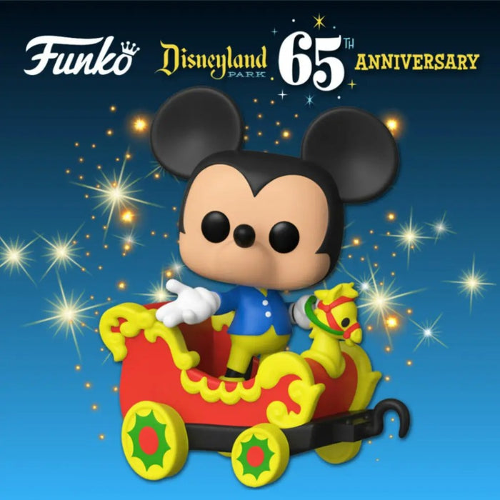 Disney 65th Anniversary Mickey on Train