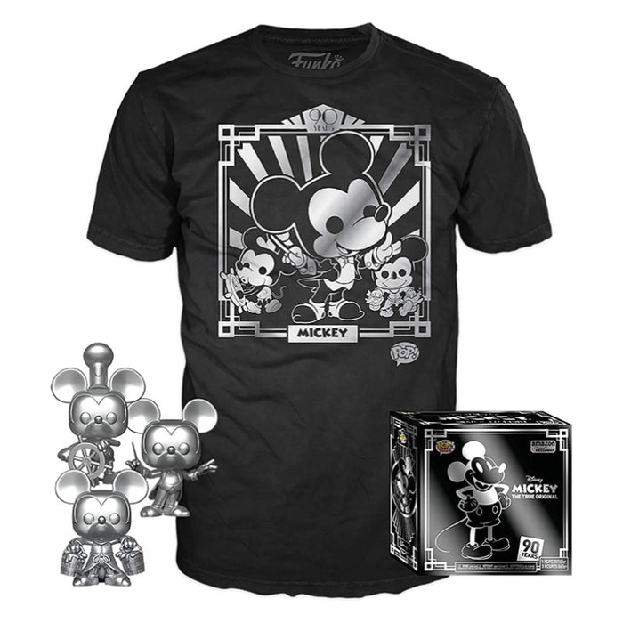 Mickey Mouse Triple Pack Pop & Tee