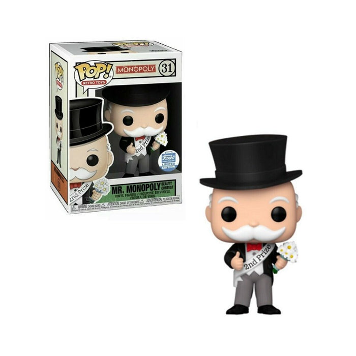 Mr Monopoly Beauty Contest Funko Shop exclusive