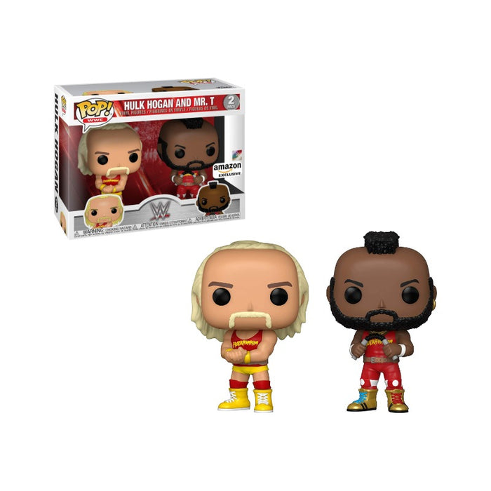 Hulk Hogan & Mr T WWE Hulkmania  Amazon Exclusive