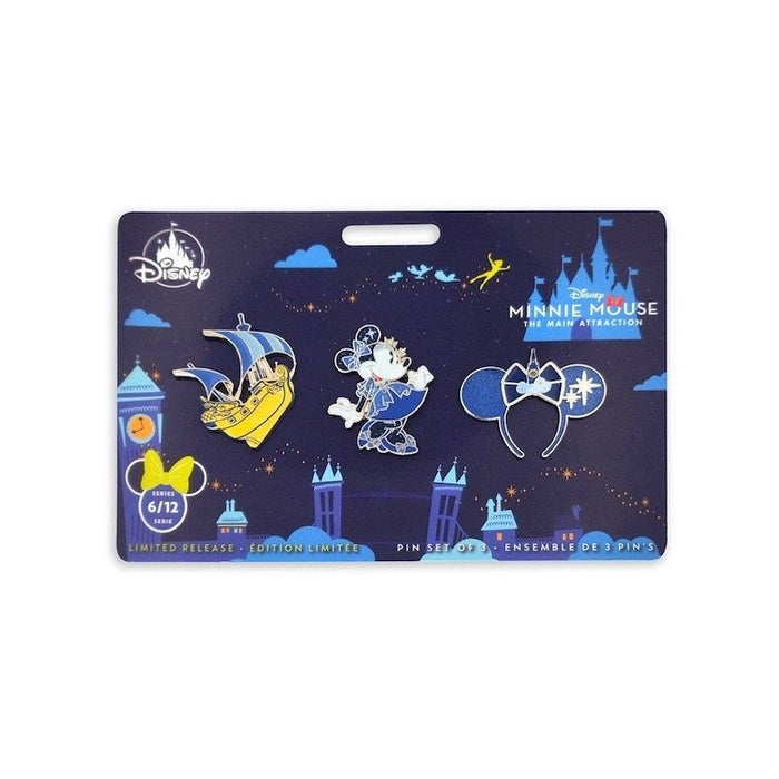Disney Minnie Main Attraction Peter Pan's Flight Pins