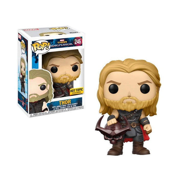 Thor with Surtur's Helmet Hot Topic exclusive Funko