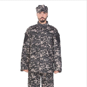 Adult Grey Tactical Combat Uniform - vtarmynavy