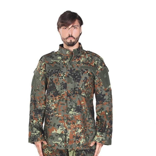 Adult Dark Green Tactical Combat Uniform - vtarmynavy