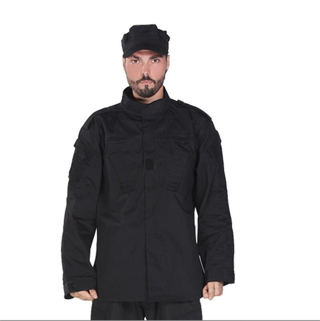 Adult Black Tactical Combat Uniform - vtarmynavy