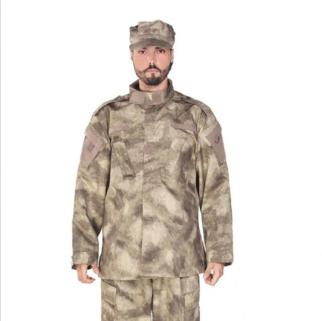 Adult Light Green Tactical Combat Uniform - vtarmynavy