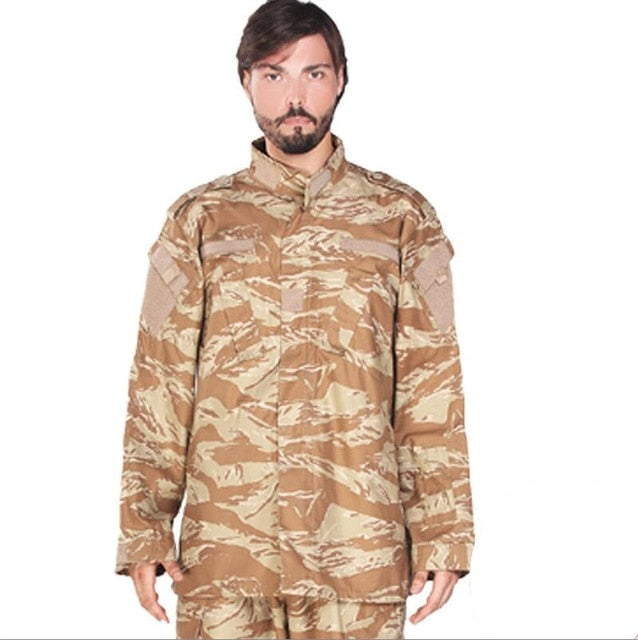Adult Light Brown Tactical Combat Uniform - vtarmynavy