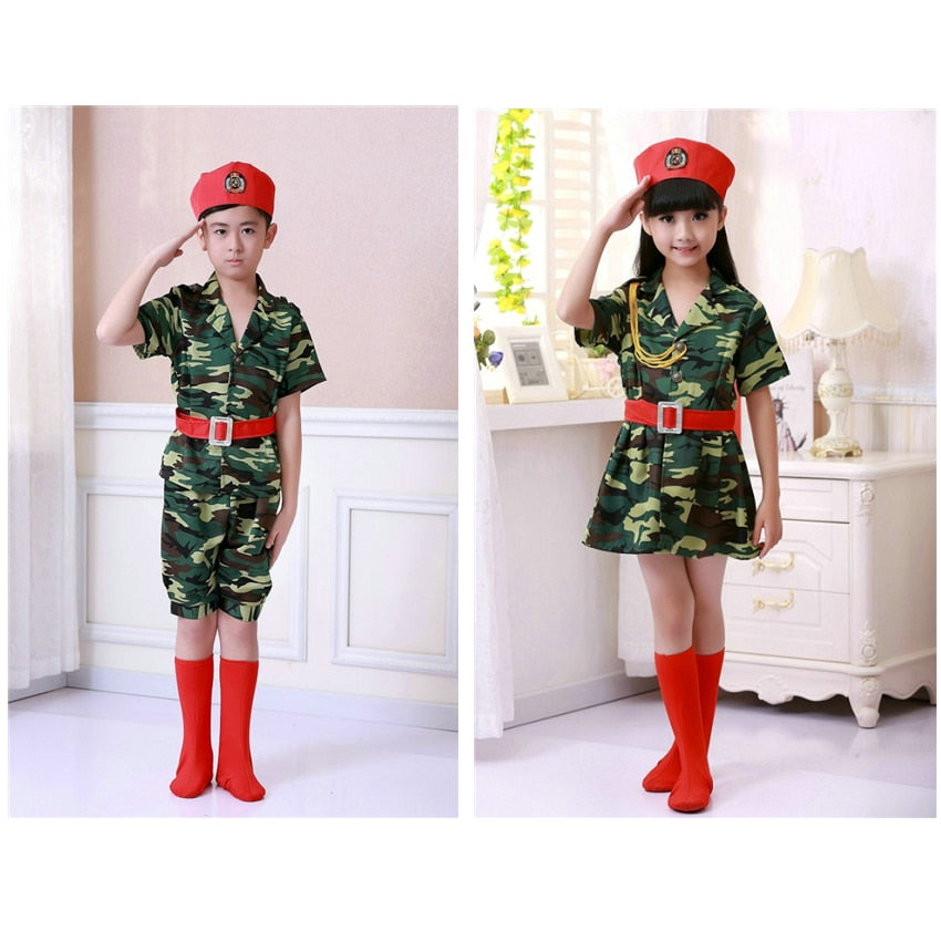 Childrens Military Tactical Uniform - vtarmynavy