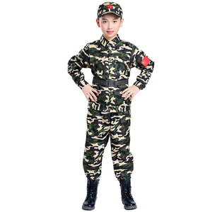 Childrens Girl Scout/Boy Soldier Costume - vtarmynavy