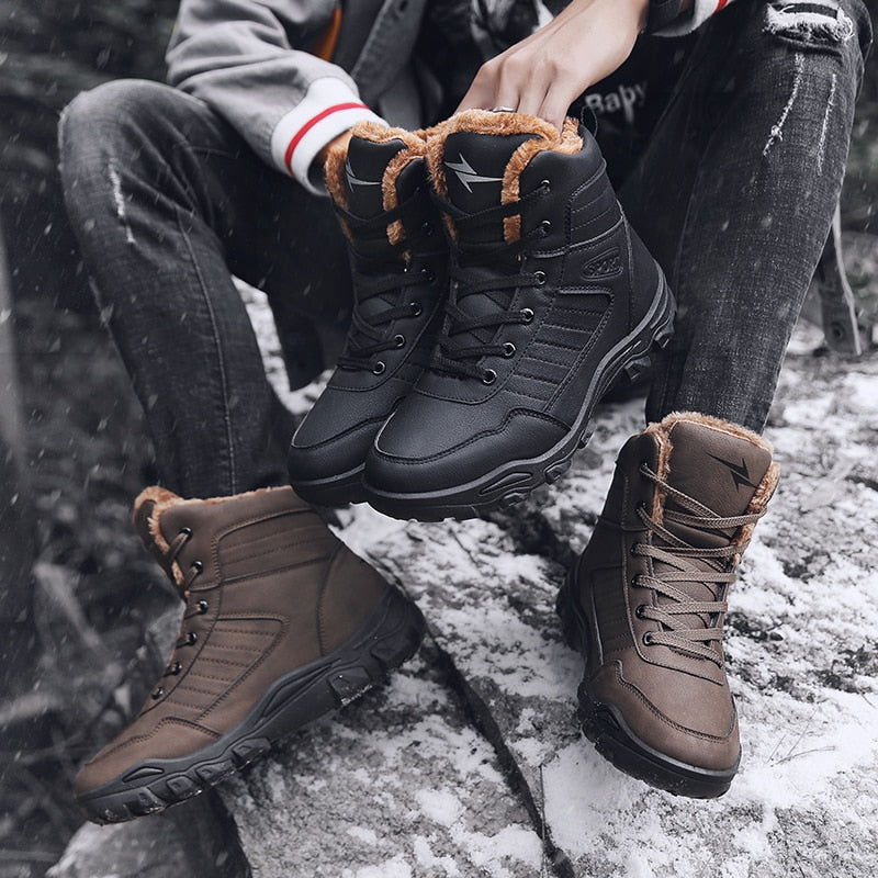 Mens Waterproof Boots - vtarmynavy