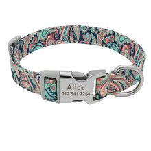 Load image into Gallery viewer, Customizable Pet Collars
