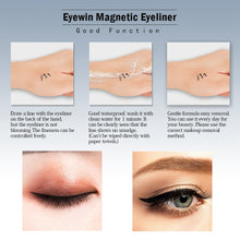 Load image into Gallery viewer, Magnetic Eyeliner with Magnetic Eyelashes
