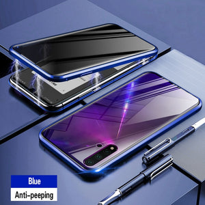 Anti-peek Tempered Glass with Magnetic Case.